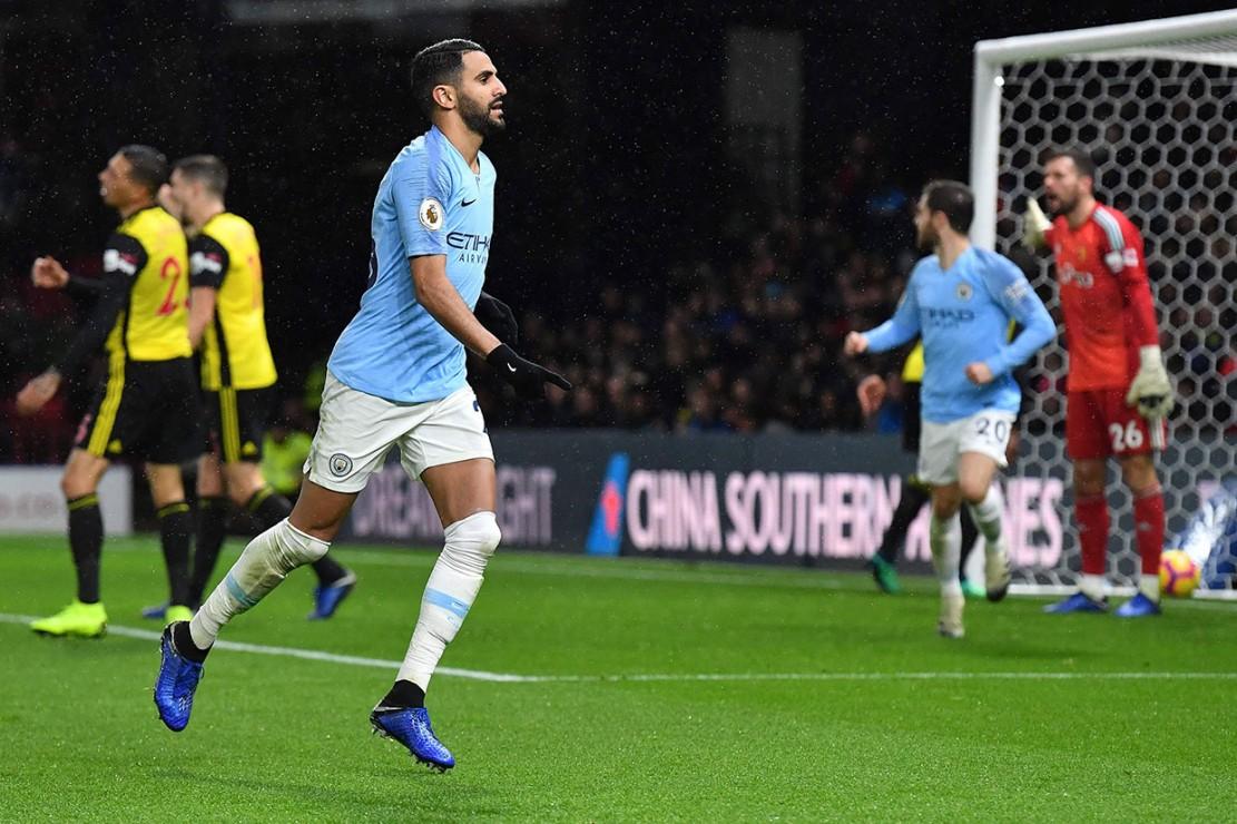 Manchester City Raih Poin Penuh di Kandang Watford