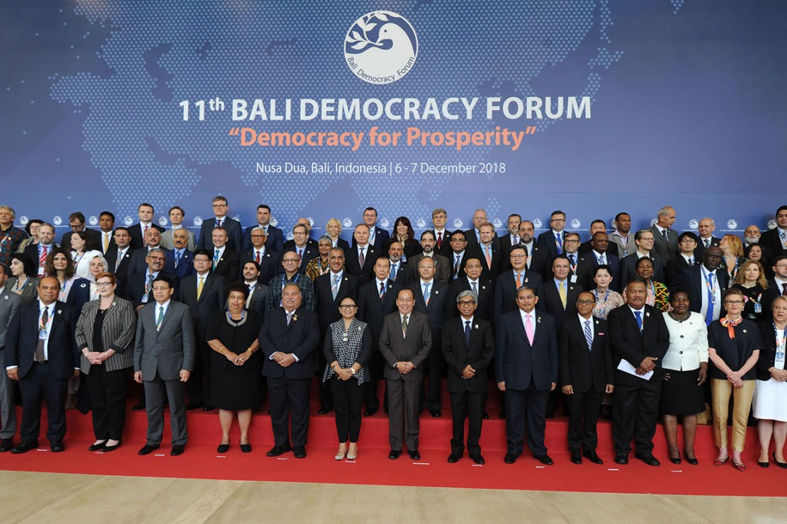 Delegasi Bali Democracy Forum Rasakan Getaran Gempa