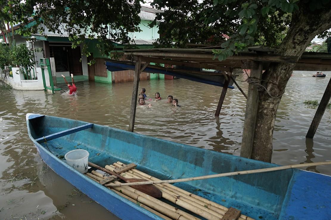 Banjir Rendam 13 Desa di Cilacap