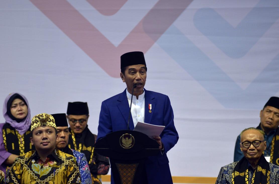 Jokowi: ICMI Berperan Penting Jaga Persatuan dan Kerukunan