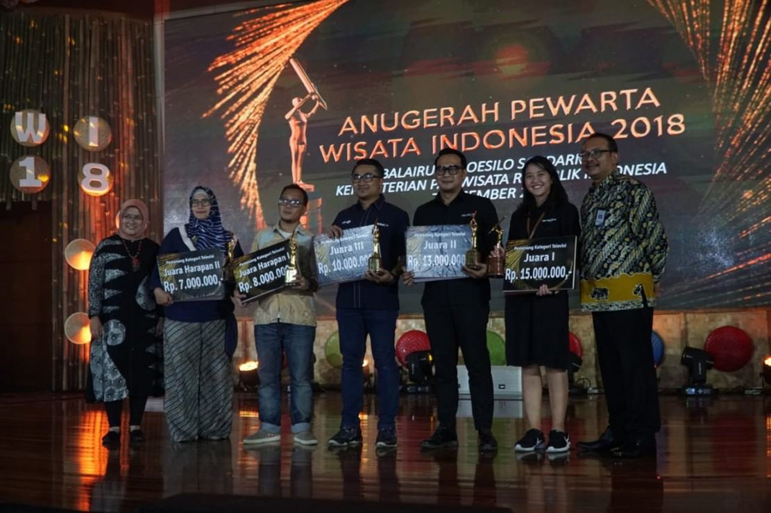 Metro TV Raih Penghargaan Anugerah Pewarta Wisata Indonesia