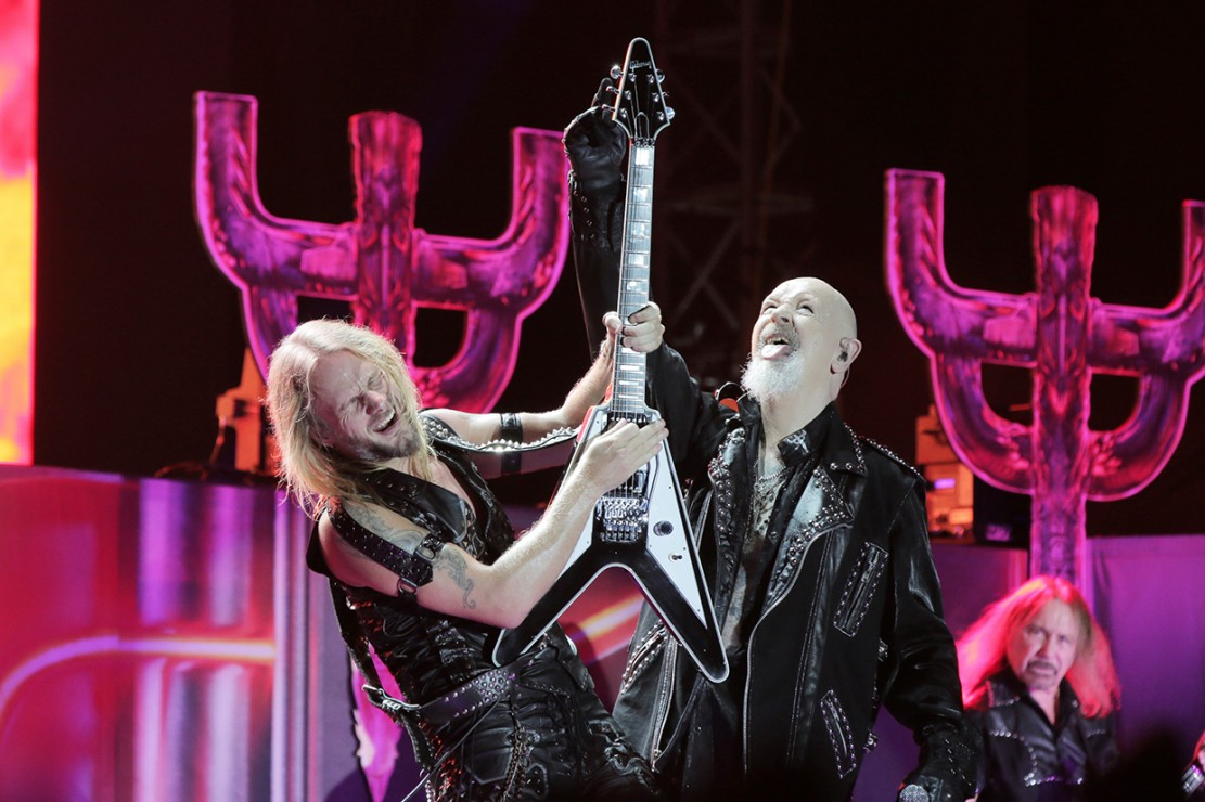 Kemeriahan Konser Judas Priest di Jakarta