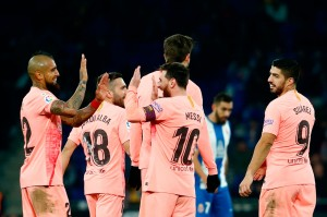 Skor 4-0 bagi Barcelona bertahan hingga laga usai. Kemenangan itu membuat Barcelona kian mantap di puncak klasemen dengan raihan 31 poin, menjaga jarak dari kejaran Sevilla (28) maupun Atletico Madrid (28). Sementara Espanyol (21) terperosok di urutan kesembilan.