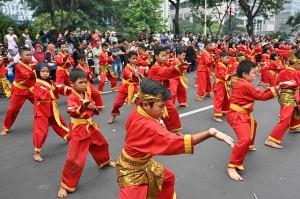Pawai Budaya dalam acara Kongres Kebudayaan Indonesia tersebut menunjukkan keberagaman Indonesia dengan diikuti 3.400 peserta dan setiap provinsi diwakili oleh 100 peserta.