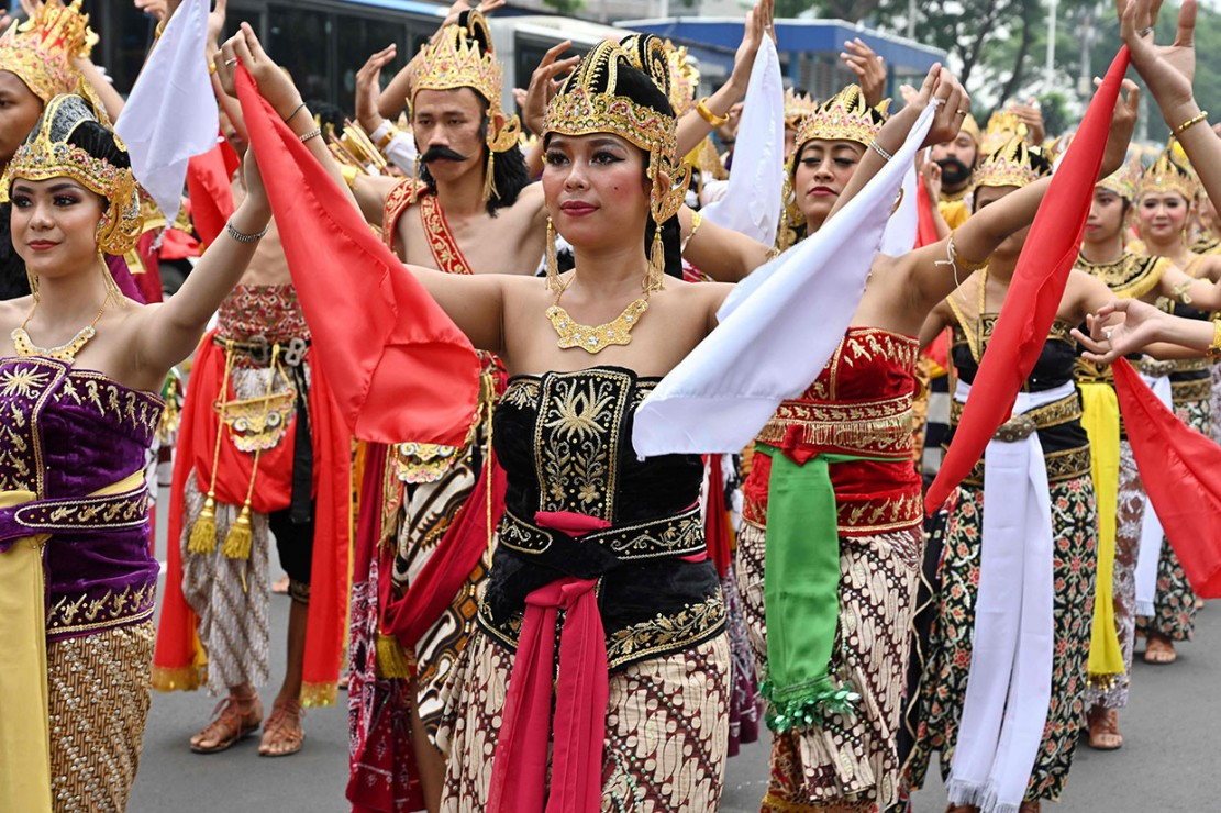 Pawai dilakukan sebagai bagian penting dari puncak acara Kongres Kebudayaan di mana peserta akan menyerahkan hasil-hasil kongres kepada Presiden Joko Widodo.Kongres Kebudayaan Indonesia berlangsung pada Rabu, 5 Desember-Minggu, 9 Desember.