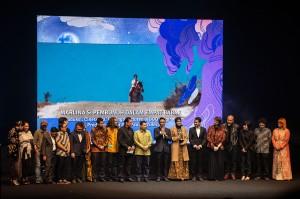 Film 'Marlina Si Pembunuh Dalam Empat Babak' menjadi pemenang dalam kategori Film Cerita Panjang Terbaik dalam ajang Festival Film Indonesia (FFI) 2018. Antara Foto/Aprillio Akbar