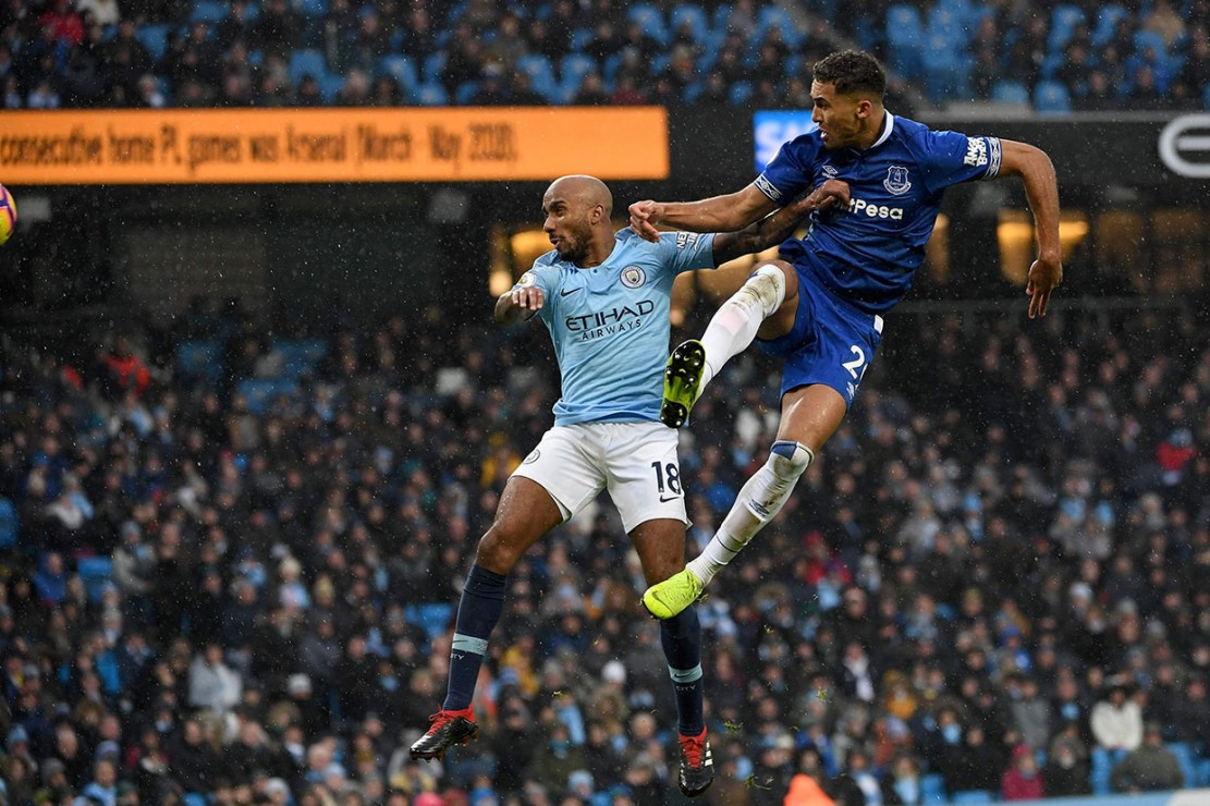 Everton mencetak gol balasan pada menit ke-65 lewat Dominic Calvert-Lewin tandukan menyambut umpan silang Lucas Digne, untuk mengubah skor menjadi 1-2.