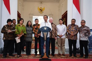 Sebelumnya, pelunasan divestasi PT Freeport kepada PT Inalum (Persero) diumumkan langsung oleh Presiden Jokowi di Istana Merdeka, Jakarta.