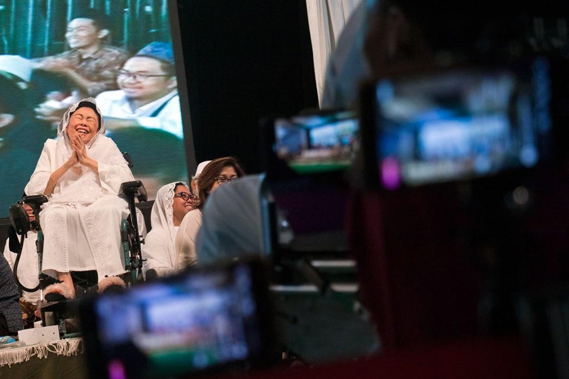 Keluarga almarhum KH Abdurrahman Wahid menggelar Haul atau peringatan meninggalnya Gus Dur ke-9 dengan tema Yang Lebih Penting dari Politik adalah Kemanusian.