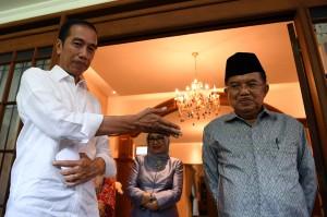 Usai santap siang, Jokowi mengharapkan bantuan Jusuf Kalla apabila dirinya terpilih lagi di Pemilu 2019 bersama cawapres Ma'ruf Amin. Dan JK siap memenuhi tawaran tersebut.