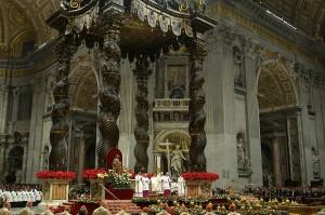Ini merupakan Natal keenam bagi pria berusia 82 tahun ini sebagai kepala Gereja Katolik Roma.