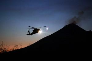 Media lokal menyebut kecelakaan terjadi tak lama usai helikopter terbang dari ibu kota Puebla.