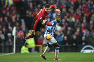 United berpeluang menggandakan keunggulan pada menit ke-40 saat Marcus Rashford melepaskan umpan silang matang yang mengarah kepada Diogo Dalot, sayang sepakan bek tuan rumah itu melenceng dari sasaran.