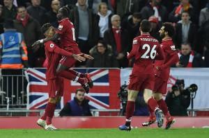 Menit ke-16 Firmino mencetak gol keduanya demi membawa Liverpool berbalik memimpin 2-1, saat ia berhasil merebut bola di depan kotak penalti Arsenal, sebelum menghindari hadangan tiga pemain lawan dan menyarangkan bola kembali ke gawang Bernd Leno.