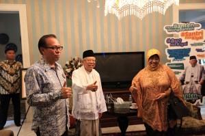 Kedatangan mantan anggota DPR RI periode 2009-2014 itu untuk bersilaturahmi sebagai dua tokoh NU dan bentuk dukungan Lily Wahid kepada pasangan Joko Widodo-Ma'ruf Amin dalam pemilu 2019 mendatang.