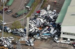 Jepang diterjang topan Jebi, Selasa, 4 Semptember 2018. Topan ini tercatat jadi badai terkuat yang pernah melanda Jepang dalam 25 tahun terakhir. Badai terburuk sempat menghantam Jepang pada 1993. Sebulan sebelum banjir bandhang dan tanah longsor melanda bagian barat Jepang yang mengakibatkan sedikitnya 64 orang tewas dan 44 hilang. Afp Photo/Jiji Press