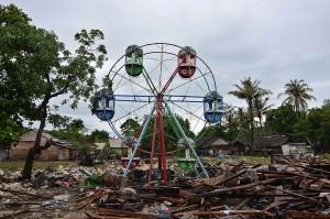 Tanpa pertanda, air bah akibat erupsi Gunung Anak Krakatau disebut-sebut sebagai penyebab longsor bawah laut hingga memicu gelombang tsunami yang menewaskan ratusan orang Sabtu, 22 Desember 2018 lalu.