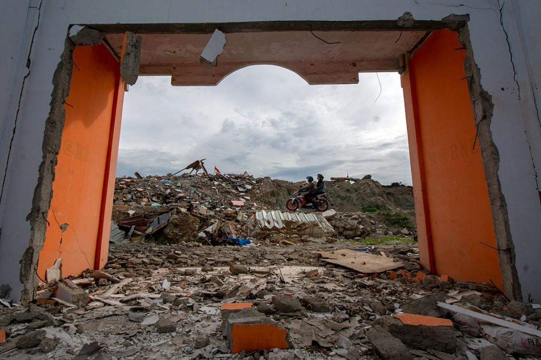 Selain melarang warga untuk memanfaatkan kembali lokasi tersebut karena masuk dalam 'Zona Merah', pemerintah juga akan menjadikan kawasan itu sebagai monument park untuk menandai terjadinya bencana likuifaksi terbesar di dunia yang menelan ribuan nyawa pada 28 September 2018.