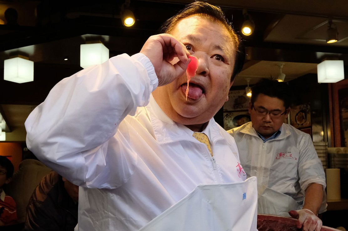 'Raja Tuna' Kimura membayar harga tertinggi, yang mengalahkan rekor sebelumnya sebesar 155 juta yen yang juga dimenangkannya pada 2013 lalu.