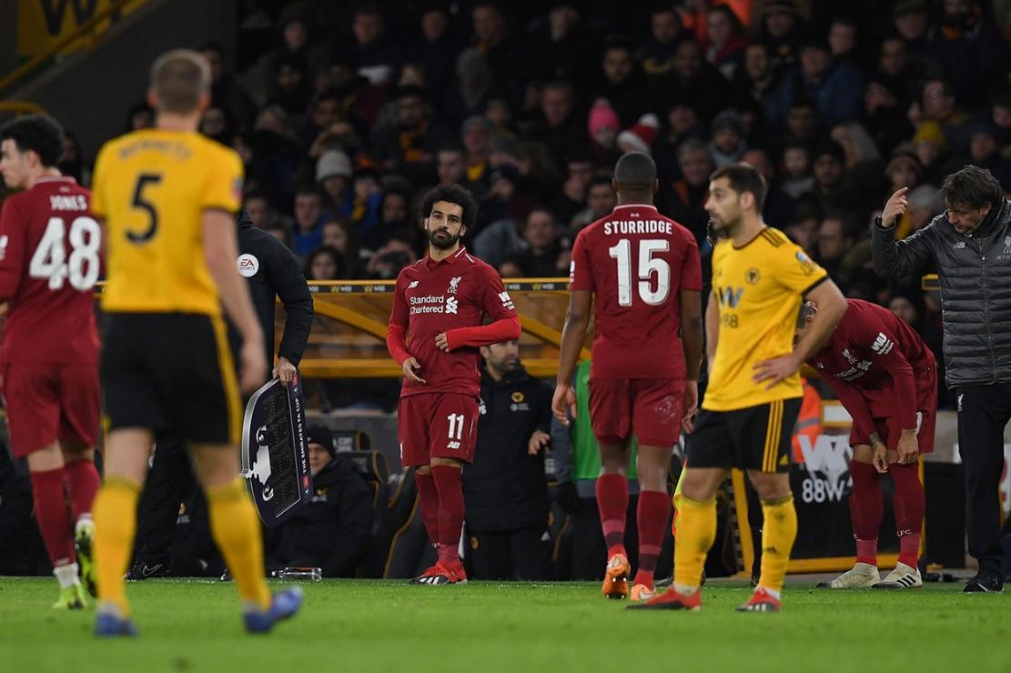 Masuknya Mohamed Salah dan Roberto Firmino pada menit ke-70, untuk menggantikan Sturridge dan Curtis Jones tak cukup untuk membayar ketumpulan yang diperlihatkan selama 70 menit sebelumnya.