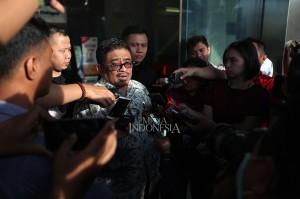 Soni mengaku ditanya sekitar 15 pertanyaan oleh penyidik lembaga antirasywah sebagai saksi dalam kasus dugaan suap terkait perizinan proyek Meikarta.