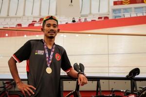 Medali yang diraih Fadli menjadi emas pertama Indonesia pada ATC 2019. Antara Foto/Putra Haryo Kurniawan
