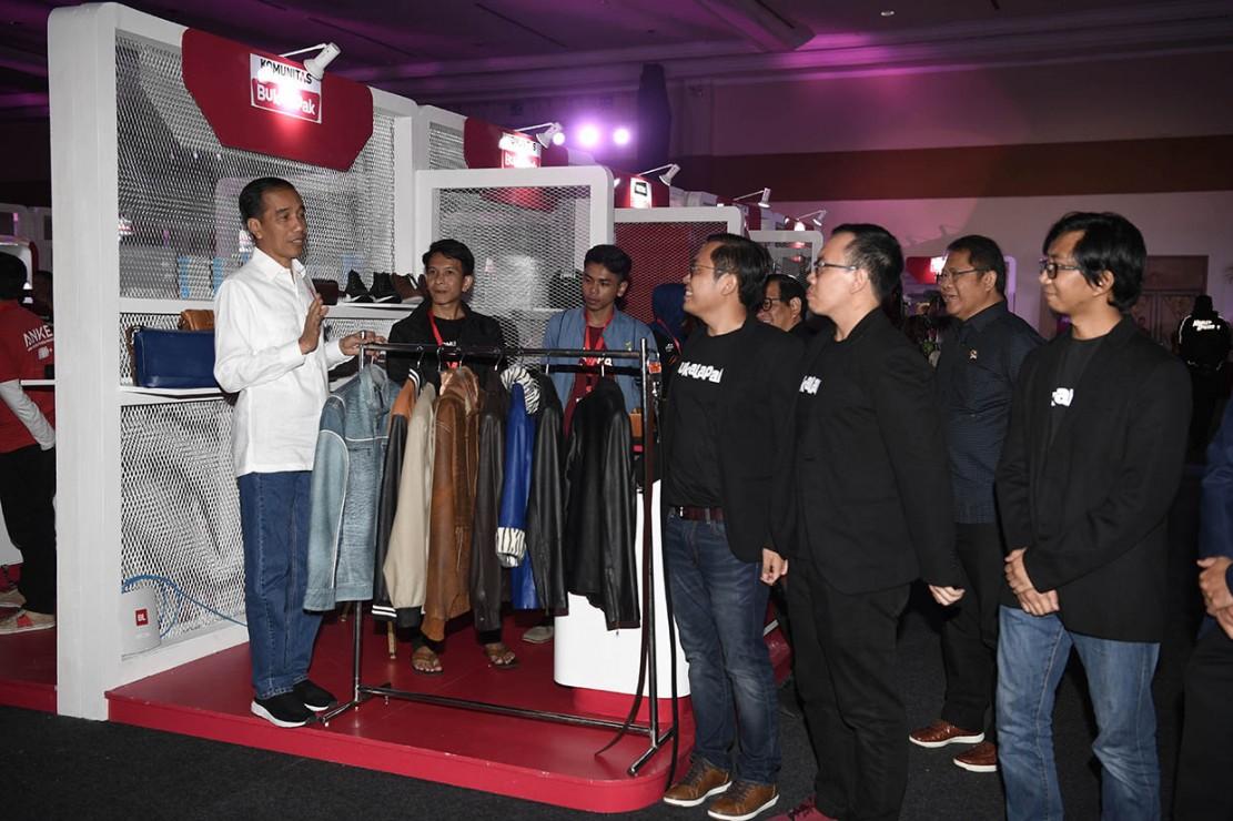Jokowi berpesan kepada Bukalapak untuk bisa membangun ekosistem online yang tersambung dengan ekosistem offline. Ia mendorong e-commerce tersebut untuk bekerja sama dengan pemerintah dalam memperbaiki kualitas produk-produk UMKM.