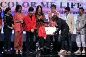 Robby diketahui mengidap sakit akibat stroke sejak beberapa tahun lalu. Dalam Jakarta Fashion Week 2012, sejumlah perancang busana menggelar peragaan busana yang karyanya didedikasikan bagi Robby yang kala itu sedang sakit. Antara Foto/Agus Apriyanto