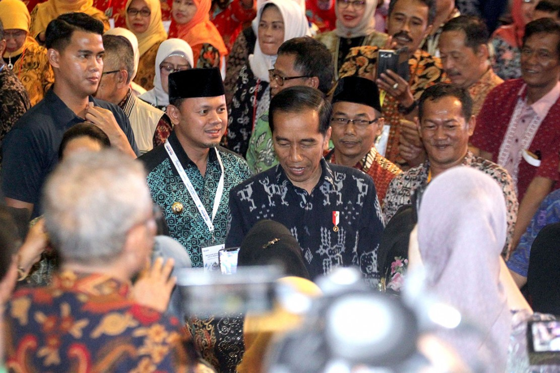 Jokowi memberikan tips kepada para ASN yang memasuki masa pensiun.