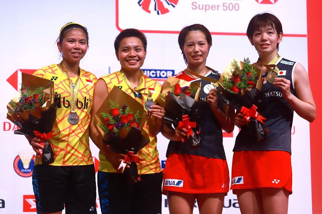 Ganda putri Indonesia Greysia Polii/Apriyani Rahayu gagal menjuarai turnamen Malaysia Masters 2019, setelah dikalahkan pasangan Jepang Yuki Fukushima/Sayaka Hirota dalam pertandingan yang digelar di Kuala Lumpur, Minggu, 20 Januari 2019.