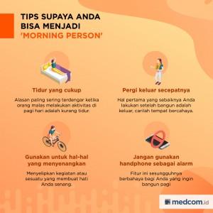 Tips Supaya Anda Bisa Menjadi Morning Person