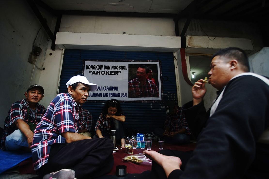 Sementara itu sejumlah pendukung Ahok (Ahoker) mulai berdatangan di Mako Brimob sejak Rabu, 23 Januari, untuk menyambut bebasnya mantan Gubernur DKI Jakarta tersebut.