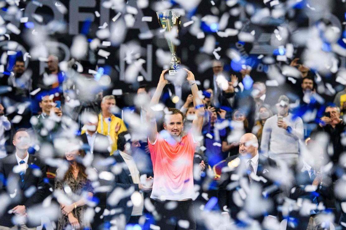 Daniil Medvedev meraih gelar ATP Tour pertamanya pada tahun 2019 dan yang keempat sepanjang kariernya.