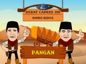 Tema Pangan dalam Debat Capres 2019