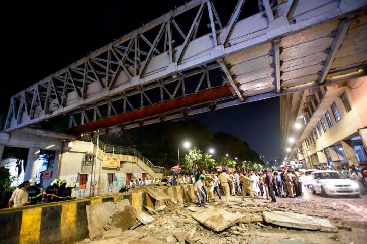 JPO di Mumbai Runtuh, Enam Orang Tewas