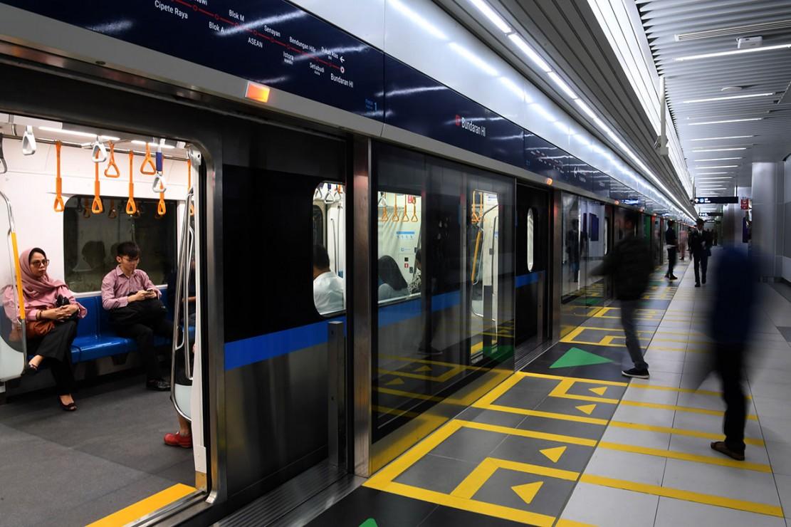 tarif mrt jakarta antar stasiun