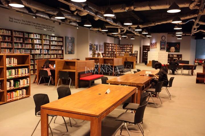 Rasakan Nuansa <i>Homey</i> Perpustakaan Freedom Institute