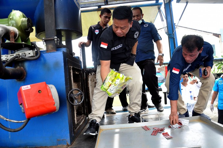 BNN Sumut Musnahkan 18,5 Kg Sabu dan Ribuan Ekstasi