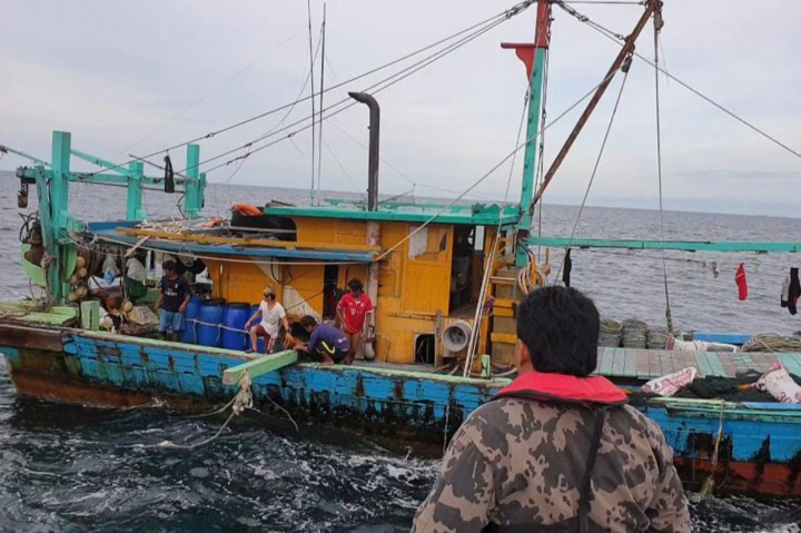KKP Kembali Sergap Kapal Ilegal asal Malaysia