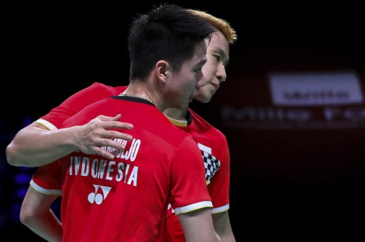 Kevin/Marcus Pertahankan Gelar Juara Denmark Open