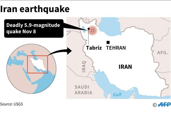 Begini Kerusakan akibat Gempa M 5,9 di Iran
