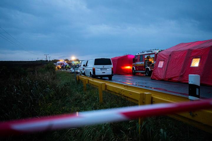 Tabrakan Bus dan Truk di Slovakia Tewaskan 12 Orang