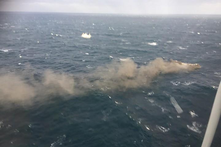 Kapal Nelayan Terbakar di Korea, 1 Tewas dan 11 Hilang