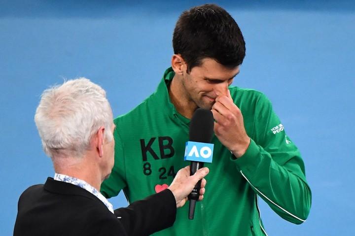 Saat Djokovic Kenang Kobe Bryant Medcom Id