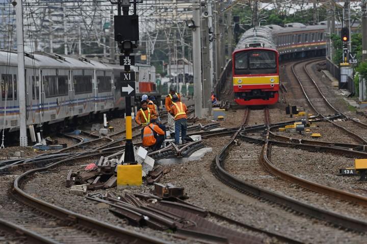 Revitalisasi Wesel, 45 Perjalanan KRL Commuter Line Hanya Sampai