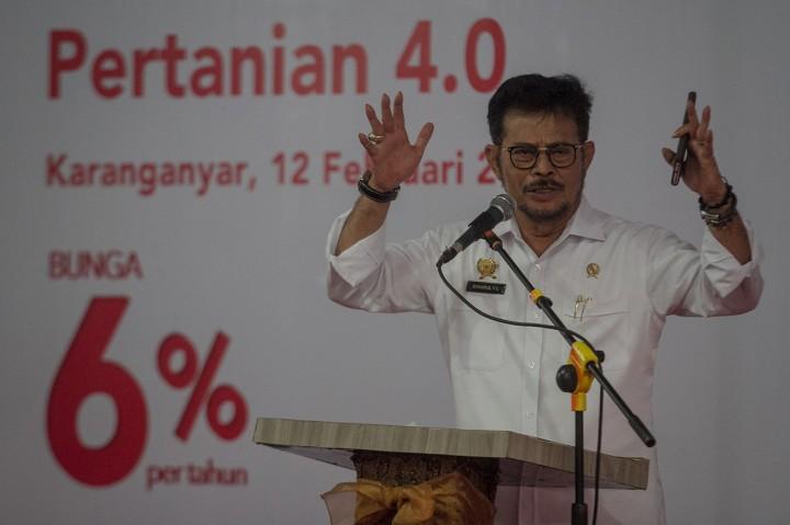 Mentan Luncurkan Gerakan Menyongsong Pertanian 4.0 Jateng di