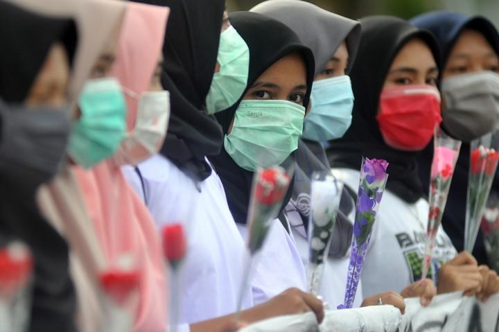Mahasiswi di Padang Gelar Kampanye Anti Kekerasan Seksual pada