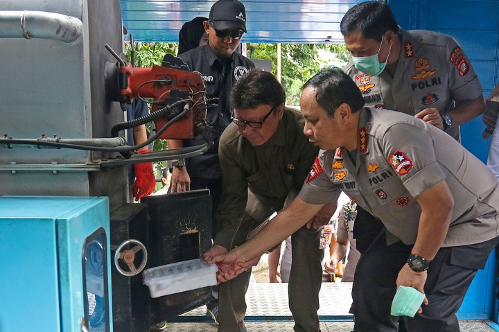 Polda Metro Jaya Musnahkan 1,3 Ton Ganja dan 288 Kg Sabu