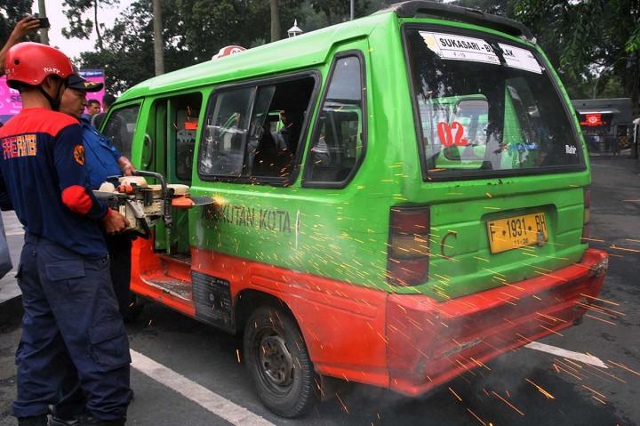 Atasi Macet, Bogor akan Kurangi Jumlah Angkot