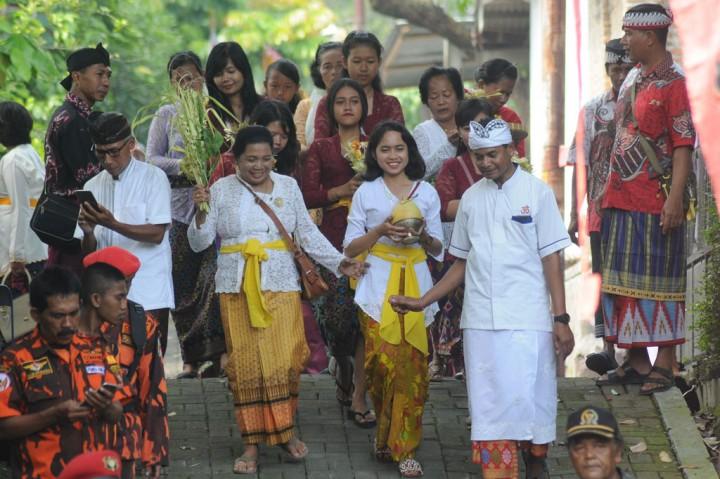 Umat Hindu Boyolali Gelar Prosesi Mendak Tirta